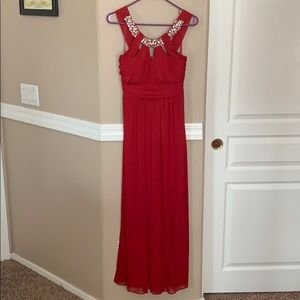 Stunning Red Prom Dress